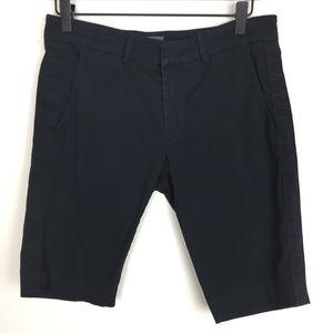 Vince. Women's Bermuda Shorts Cotton Black 4